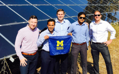 Erb Students featured in Chilean News for Ross MAP Solar Project