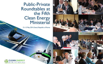 Clean Energy Ministerial Releases CEM5 Roundtables Report