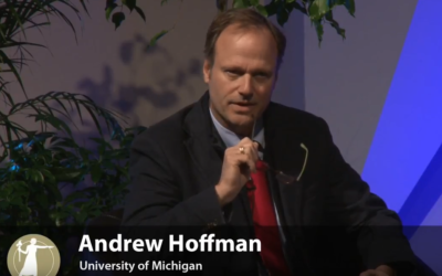 Erb Faculty Member Andy Hoffman – (Video) Role of Faculty in Public Engagement (Sackler Colloquia)