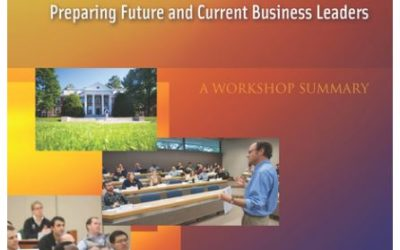 National Academies on Climate Change Education – Report
