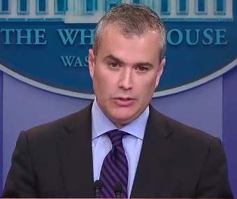 Jeffrey Zients speaking at White House Press Brieving on possible government shutdown