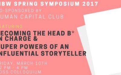 MBW Spring Symposium 2017 – Who run the world?