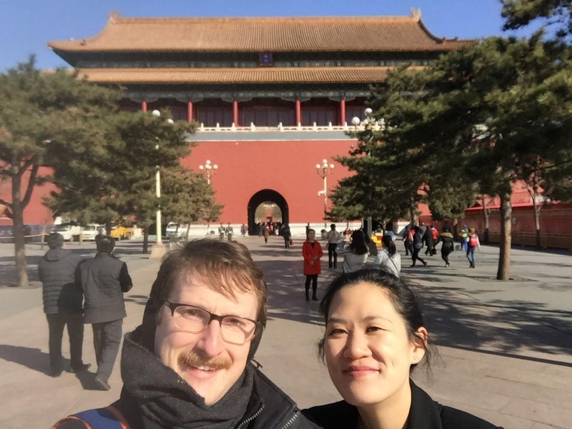 Helen and Wiles in the Forbidden City