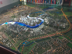 The model for the low-carbon area in Tianjin