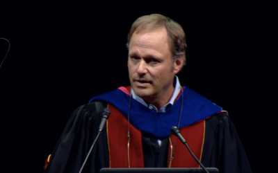 Andrew J. Hoffman delivers 2018 Convocation Address at Loyola University Chicago