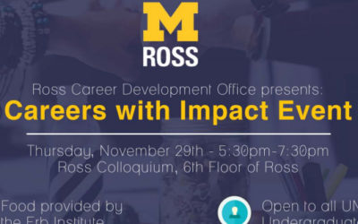 Careers with Impact Panel
