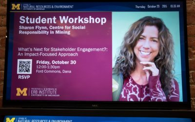Sharon Flynn – What's Next for Stakeholder Engagement?:  An Impact-Focused Approach