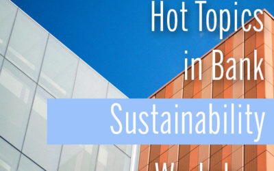 Hot Topics in Bank Sustainability Workshop