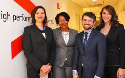 Erb Student and Ross Team Win Accenture Innovation Challenge