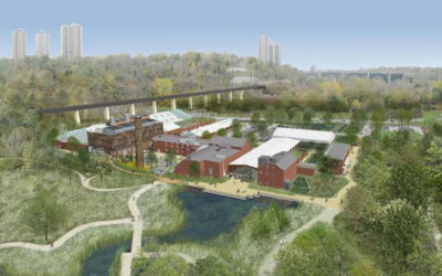 Re-imagining Cities at Toronto's Evergreen Brick Works