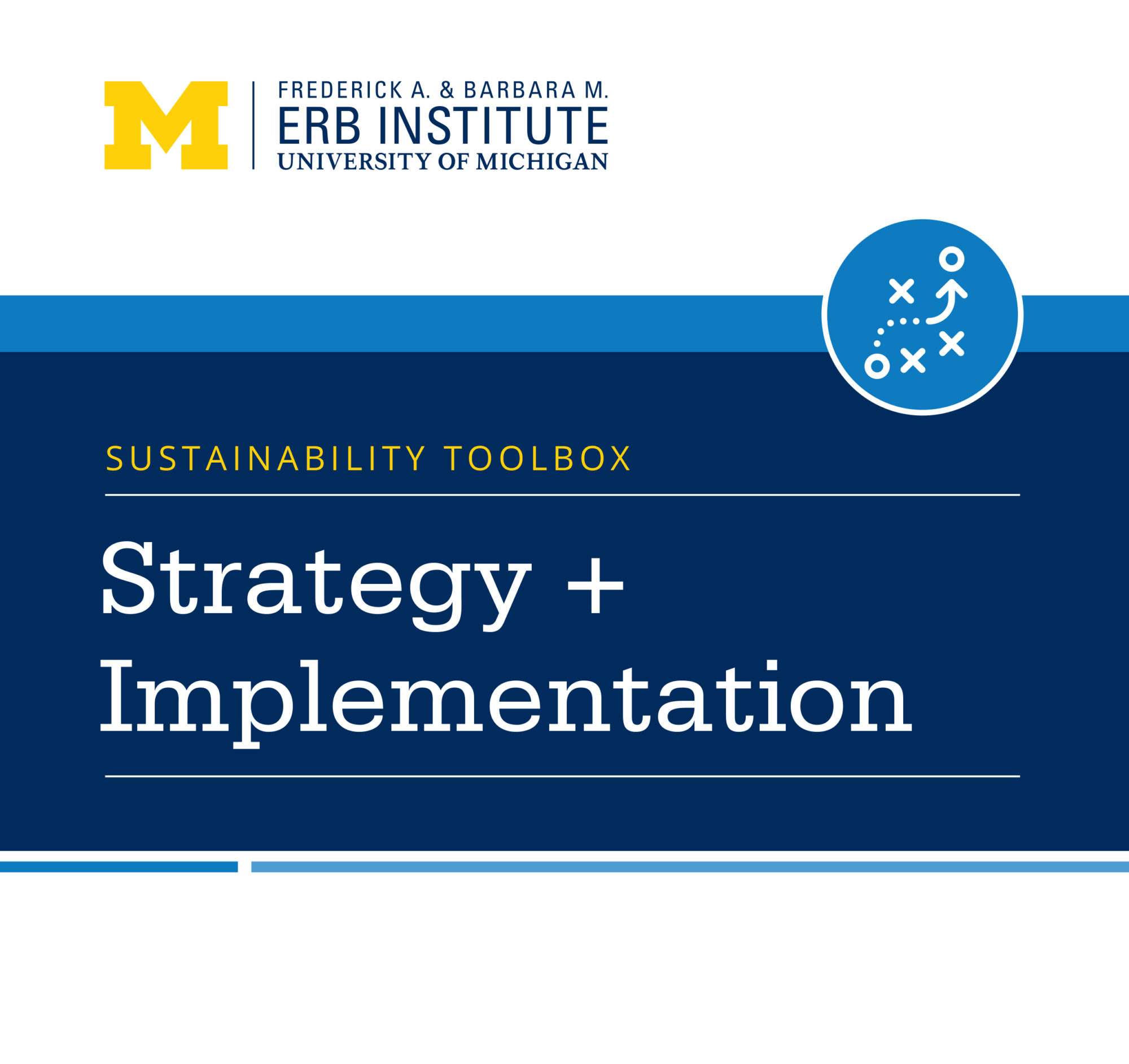 Sustainability Toolbox: Strategy + Implementation