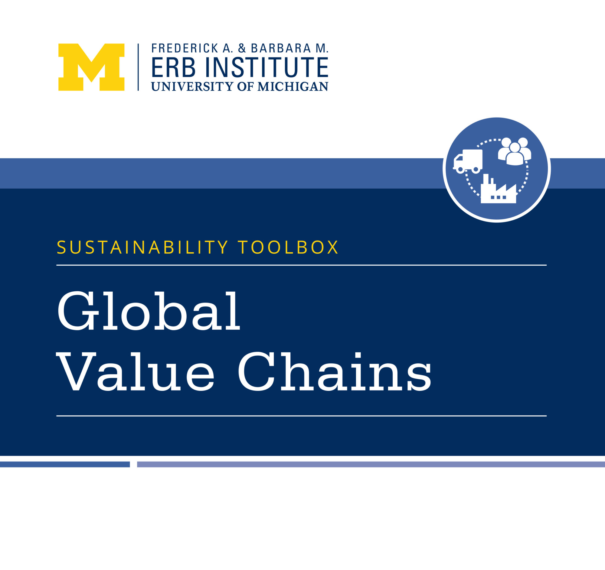 Sustainability Toolbox: Global Value Chains