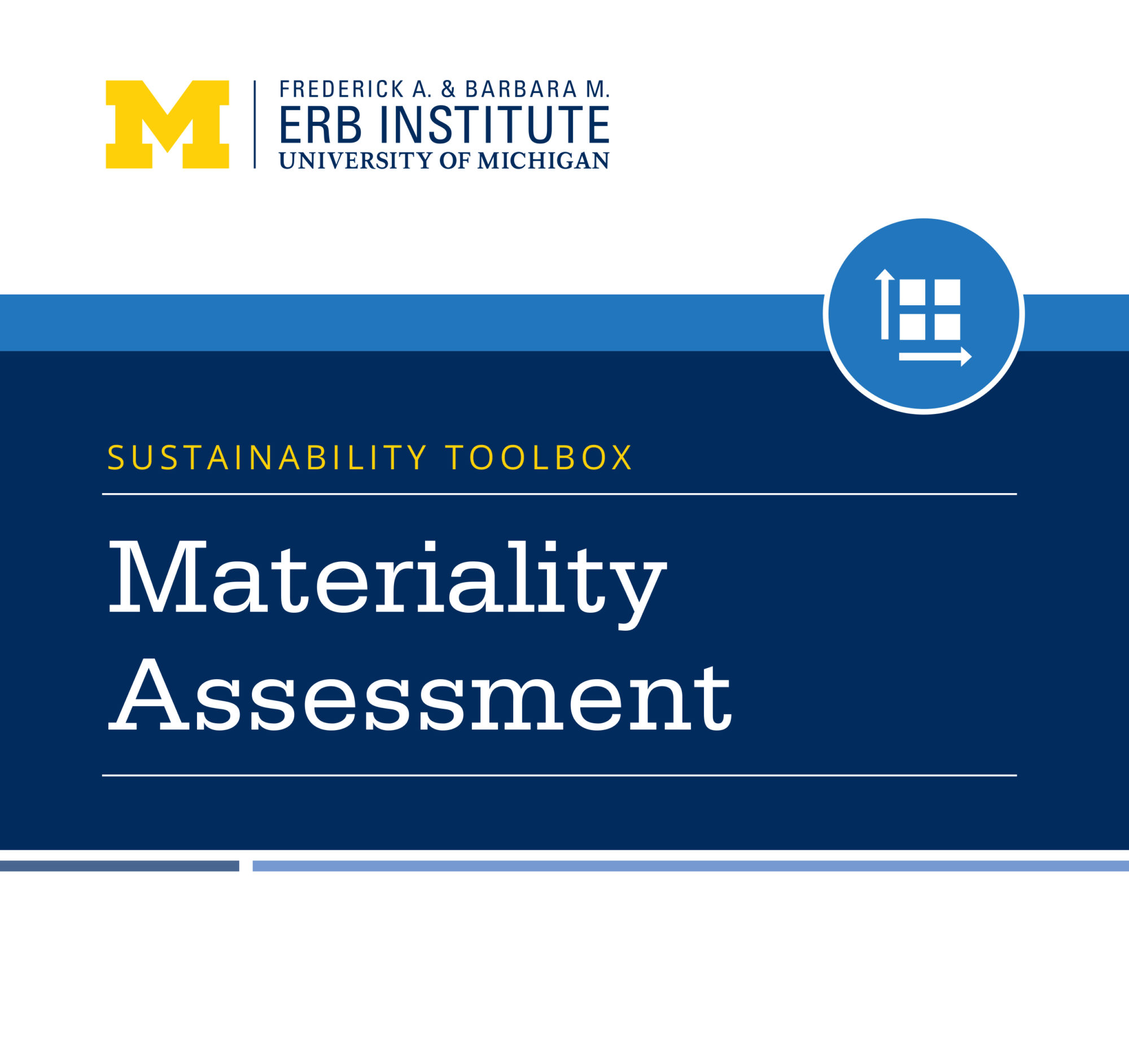 Sustainability Toolbox: Materiality Assessment