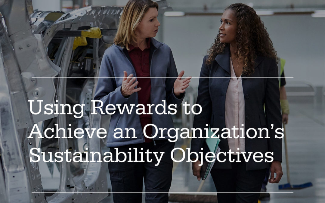 Erb Student Report: Using Rewards to Achieve an Organization's Sustainability Objectives